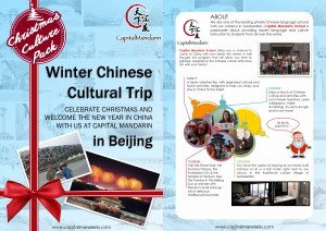 Winter Chinese Cultural Trip